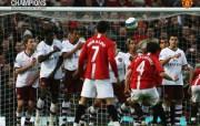 英超联赛球队 官方 Hargreaves vs Arsenal桌面壁纸 Manchester United 曼联壁纸胜利时刻 体育壁纸