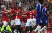 英超联赛球队 官方 Chelsea 2 0桌面壁纸 Manchester United 曼联壁纸胜利时刻 体育壁纸