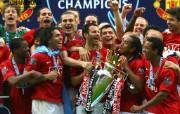 英超联赛球队 官方 Trophy Presentation桌面壁纸 Manchester United 曼联壁纸胜利时刻 体育壁纸