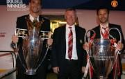 英超联赛球队 官方 Back Home桌面壁纸 Manchester United 曼联壁纸胜利时刻 体育壁纸