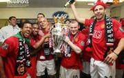 英超联赛球队 官方 Dressing Room 2桌面壁纸 Manchester United 曼联壁纸胜利时刻 体育壁纸