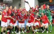 英超联赛球队 官方 Coronation 1桌面壁纸 Manchester United 曼联壁纸胜利时刻 体育壁纸