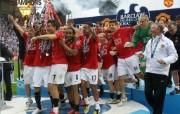 英超联赛球队 官方 Coronation 2桌面壁纸 Manchester United 曼联壁纸胜利时刻 体育壁纸