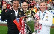 英超联赛球队 官方 Coronation 4桌面壁纸 Manchester United 曼联壁纸胜利时刻 体育壁纸