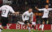 英超联赛球队 官方 Rooney vs Roma桌面壁纸 Manchester United 曼联壁纸胜利时刻 体育壁纸