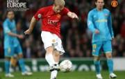 英超联赛球队 官方 Scholes vs Barca桌面壁纸 Manchester United 曼联壁纸胜利时刻 体育壁纸