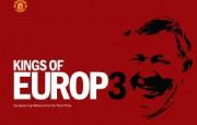 英超联赛球队 官方 Kings of Europe桌面壁纸 Manchester United 曼联壁纸胜利时刻 体育壁纸