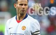 英超联赛球队 官方 Ryan Giggs桌面壁纸 Manchester United 曼联球员壁纸 体育壁纸