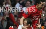 英超联赛球队 官方 Owen Hargreaves桌面壁纸 Manchester United 曼联球员壁纸 体育壁纸
