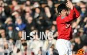 英超联赛球队 官方 Ji Sung Park桌面壁纸 Manchester United 曼联球员壁纸 体育壁纸
