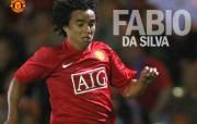英超联赛球队 官方 Fabio da Silva桌面壁纸 Manchester United 曼联球员壁纸 体育壁纸