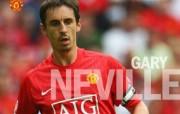 英超联赛球队 官方 Gary Neville桌面壁纸 Manchester United 曼联球员壁纸 体育壁纸