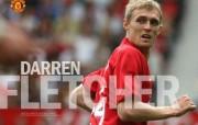 英超联赛球队 官方 Darren Fletcher桌面壁纸 Manchester United 曼联球员壁纸 体育壁纸