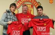 英超联赛球队 官方 Adem Ljajic Zoran Tosic桌面壁纸 Manchester United 曼联球员壁纸 体育壁纸