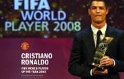 英超联赛球队 官方 Ronaldo FIFA World Player of the Year桌面壁纸 Manchester United 曼联球员壁纸 体育壁纸