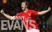 英超联赛球队 官方 Jonny Evans桌面壁纸 Manchester United 曼联球员壁纸 体育壁纸