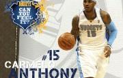 NBA 2009 10赛季丹佛掘金桌面壁纸 Carmelo Anthony桌面壁纸 NBA200910赛季丹佛掘金桌面壁纸 体育壁纸