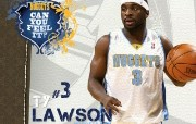NBA 2009 10赛季丹佛掘金桌面壁纸 TY Lawson桌面壁纸 NBA200910赛季丹佛掘金桌面壁纸 体育壁纸