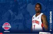 NBA 2009 10赛季底特律活塞球员阵容桌面壁纸 Ben Gordon桌面壁纸 NBA200910赛季底特律活塞球员阵容桌面壁纸 体育壁纸