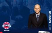 NBA 2009 10赛季底特律活塞球员阵容桌面壁纸 John Kuester桌面壁纸 NBA200910赛季底特律活塞球员阵容桌面壁纸 体育壁纸