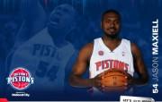 NBA 2009 10赛季底特律活塞球员阵容桌面壁纸 Jason Maxiell桌面壁纸 NBA200910赛季底特律活塞球员阵容桌面壁纸 体育壁纸