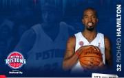 NBA 2009 10赛季底特律活塞球员阵容桌面壁纸 Richard Hamilton桌面壁纸 NBA200910赛季底特律活塞球员阵容桌面壁纸 体育壁纸