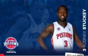 NBA 2009 10赛季底特律活塞球员阵容桌面壁纸 Rodney Stuckey桌面壁纸 NBA200910赛季底特律活塞球员阵容桌面壁纸 体育壁纸