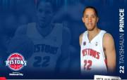 NBA 2009 10赛季底特律活塞球员阵容桌面壁纸 Tayshaun Prince桌面壁纸 NBA200910赛季底特律活塞球员阵容桌面壁纸 体育壁纸