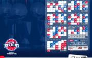 NBA 2009 10赛季底特律活塞球员阵容桌面壁纸 2009 10 Schedule桌面壁纸 NBA200910赛季底特律活塞球员阵容桌面壁纸 体育壁纸