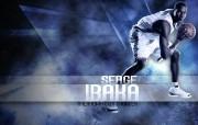 NBA 2009 10赛季俄克拉荷马城雷霆桌面壁纸 Serge Ibaka桌面壁纸 NBA200910赛季俄克拉荷马城雷霆桌面壁纸 体育壁纸