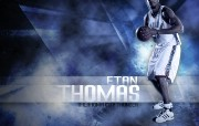 NBA 2009 10赛季俄克拉荷马城雷霆桌面壁纸 Etan Thomas桌面壁纸 NBA200910赛季俄克拉荷马城雷霆桌面壁纸 体育壁纸