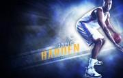 NBA 2009 10赛季俄克拉荷马城雷霆桌面壁纸 James Harden桌面壁纸 NBA200910赛季俄克拉荷马城雷霆桌面壁纸 体育壁纸