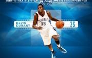 NBA 2009 10赛季俄克拉荷马城雷霆桌面壁纸 All Stars Durant桌面壁纸 NBA200910赛季俄克拉荷马城雷霆桌面壁纸 体育壁纸