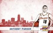 NBA 2009 10赛季克里夫兰骑士桌面壁纸 Parker图片壁纸 NBA200910赛季克里夫兰骑士桌面壁纸 体育壁纸