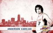 NBA 2009 10赛季克里夫兰骑士桌面壁纸 Varejao图片壁纸 NBA200910赛季克里夫兰骑士桌面壁纸 体育壁纸