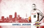 NBA 2009 10赛季克里夫兰骑士桌面壁纸 Jackson图片壁纸 NBA200910赛季克里夫兰骑士桌面壁纸 体育壁纸