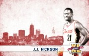NBA 2009 10赛季克里夫兰骑士桌面壁纸 Hickson图片壁纸 NBA200910赛季克里夫兰骑士桌面壁纸 体育壁纸