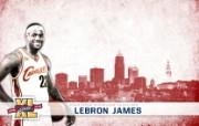 NBA 2009 10赛季克里夫兰骑士桌面壁纸 James图片壁纸 NBA200910赛季克里夫兰骑士桌面壁纸 体育壁纸