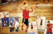 NBA 2009 10赛季洛杉矶快船桌面壁纸 BLAKE GRIFFIN 图片壁纸 NBA200910赛季洛杉矶快船桌面壁纸 体育壁纸