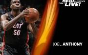NBA 2009 10赛季迈阿密热火桌面壁纸 Joel Anthony桌面壁纸 NBA200910赛季迈阿密热火桌面壁纸 体育壁纸