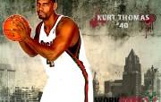 NBA 2009 10赛季密尔沃基雄鹿桌面壁纸 Kurt Thomas壁纸下载 NBA200910赛季密尔沃基雄鹿桌面壁纸 体育壁纸