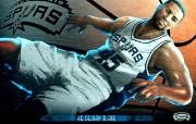 NBA 2009 10赛季圣安东尼奥马刺球员阵容桌面壁纸 DeJuan Blair NBA200910赛季圣安东尼奥马刺球员阵容桌面壁纸 体育壁纸