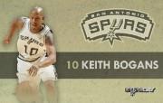 NBA 2009 10赛季圣安东尼奥马刺球员阵容桌面壁纸 Keith Bogans NBA200910赛季圣安东尼奥马刺球员阵容桌面壁纸 体育壁纸