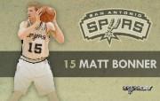 NBA 2009 10赛季圣安东尼奥马刺球员阵容桌面壁纸 Matt Bonner NBA200910赛季圣安东尼奥马刺球员阵容桌面壁纸 体育壁纸