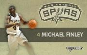 NBA 2009 10赛季圣安东尼奥马刺球员阵容桌面壁纸 Michael Finley NBA200910赛季圣安东尼奥马刺球员阵容桌面壁纸 体育壁纸