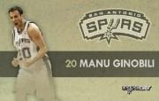 NBA 2009 10赛季圣安东尼奥马刺球员阵容桌面壁纸 Manu Ginobili NBA200910赛季圣安东尼奥马刺球员阵容桌面壁纸 体育壁纸