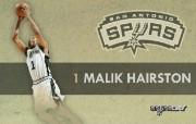 NBA 2009 10赛季圣安东尼奥马刺球员阵容桌面壁纸 Malik Hairston NBA200910赛季圣安东尼奥马刺球员阵容桌面壁纸 体育壁纸