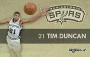 NBA 2009 10赛季圣安东尼奥马刺球员阵容桌面壁纸 Tim Duncan NBA200910赛季圣安东尼奥马刺球员阵容桌面壁纸 体育壁纸