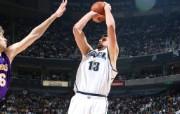 NBA 2009 10赛季犹他爵士桌面壁纸 Mehmet Okur 桌面壁纸 NBA200910赛季犹他爵士桌面壁纸 体育壁纸