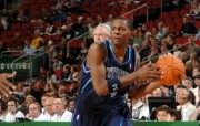 NBA 2009 10赛季犹他爵士桌面壁纸 C J Miles桌面壁纸 NBA200910赛季犹他爵士桌面壁纸 体育壁纸